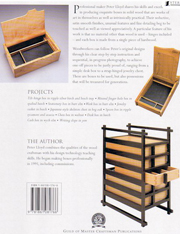 Making heirloom boxes back cover