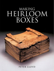 Making heirloom boxes front cover