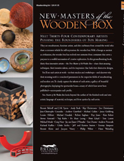 New Masters of the Wooden Box: Expanding the boundaries of box making back cover